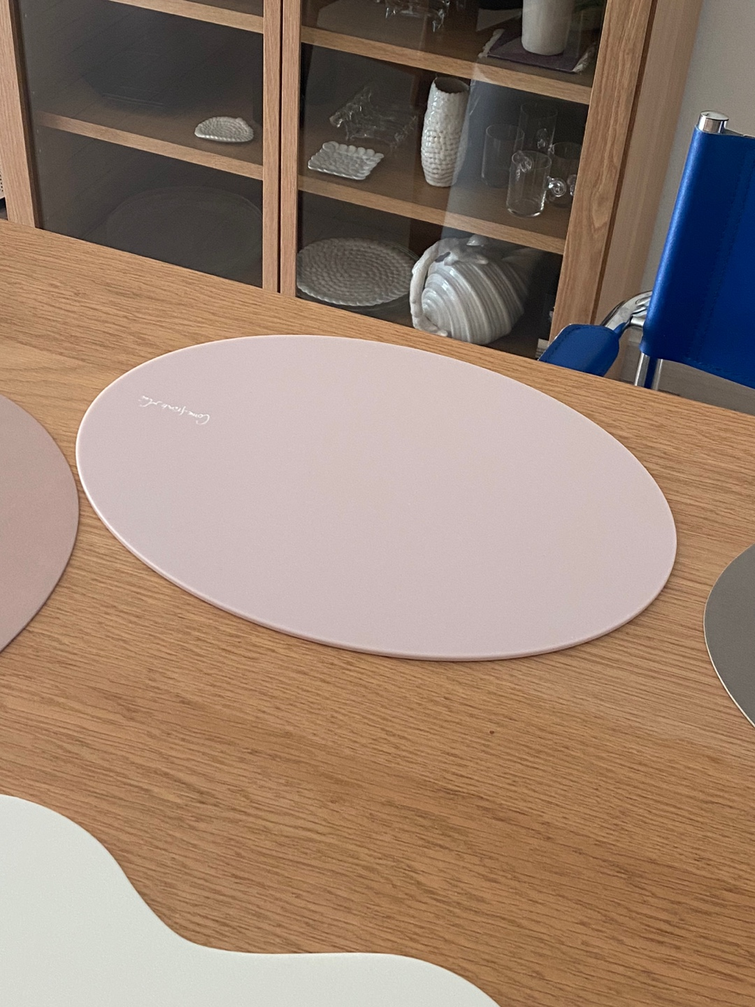 Baby Pink Acrylic Table mat